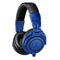 Audio-Technica Now Shipping ATH-M50xBB Blue/Black Version of Its ATH-M50x Professional Monitor Headphones
