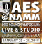 AES@NAMM Pro Sound Symposium Opens Online Registration with News of Key Program Supporters