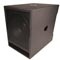 BASSBOSS DJ18S Powered Subwoofer Provides Intense Deep Bass from a Mobile-Optimized Cabinet
