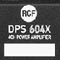 RCF DPS 604X -- Four-Channel Amplifier Is Now Shipping