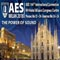 Latest Audio Research and Technologies to Be Highlighted at AES Milan Convention