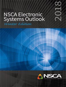 NSCA Winter 2018 Electronic Systems Outlook Indicates 3