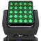 Chauvet Professional Debuts Next NXT-1 Moving Head Pixel-Mapping RGBW Display Panel