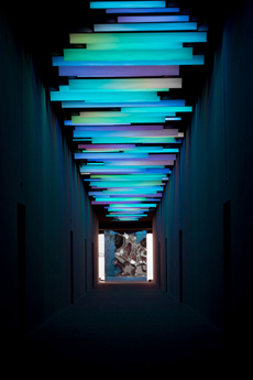 Renegade Presents Tunnel Of Light For 100 Design Entrance