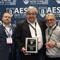 "Neumann Honored with 90th Anniversary ""Service to Industry"" Award during AES 145th Convention"