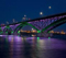 Peace Bridge Shines with LED Lighting Transformation by Philips