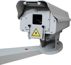 outdoor laser system for logo and architecture projections released