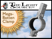 The Light Source - Batten Clamp