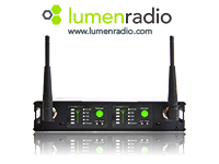 AC Lighting LumenRadio web ad